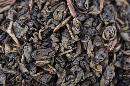 gunpowder: Background of green gunpowder tea