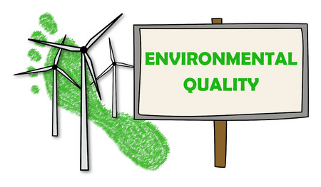 Illustration of an environmental quality concept