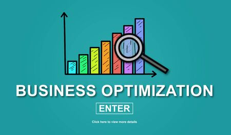 Illustration of a business optimization concept