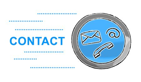 Illustration of a contact concept