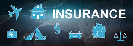 Illustration of an insurance concept