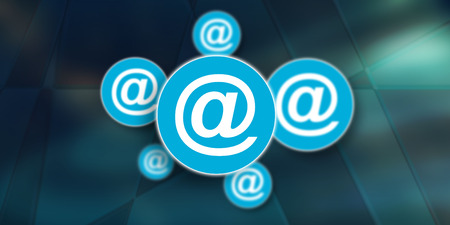 Illustration of an email concept