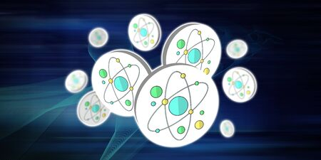 Illustration eines nuklearen Forschungskonzepts