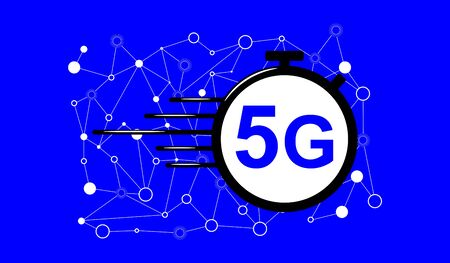 Illustration of a 5g concept