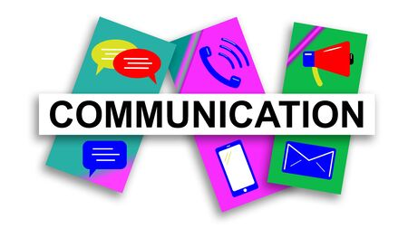 Illustration of a communication concept
