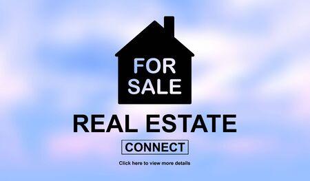 Illustration of a real estate concept