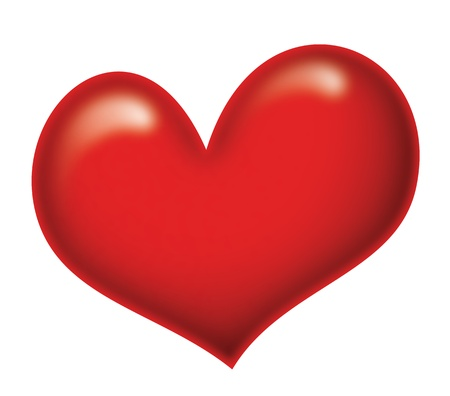 healthier: A big heart, symbol of love