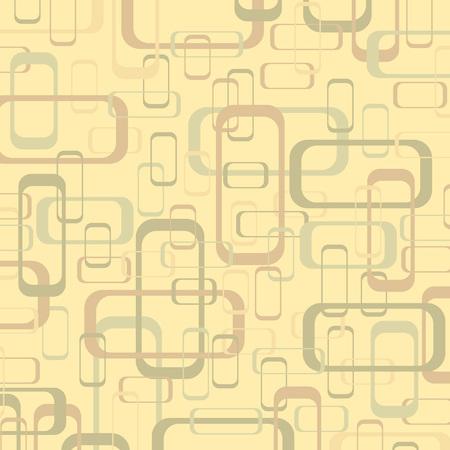 Retro vector illustration geometrical pop abstract stylised design wallpaper as background image Ilustração