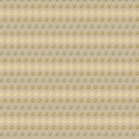 Retro vector illustration geometrical pop abstract stylised design wallpaper as background image with beige brown yellow and green colours