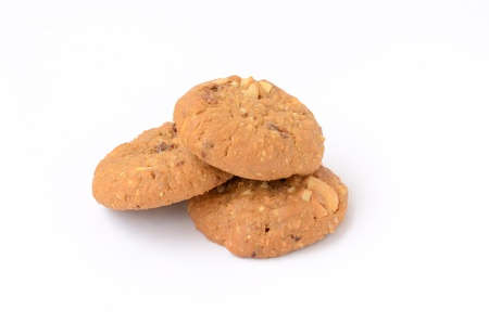 Oatmeal Cookie Stock Photo