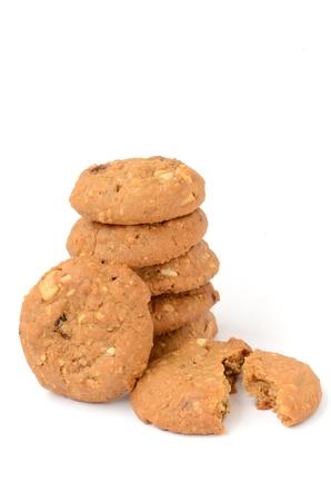 oatmeal cookie: Oatmeal Cookie Stock Photo