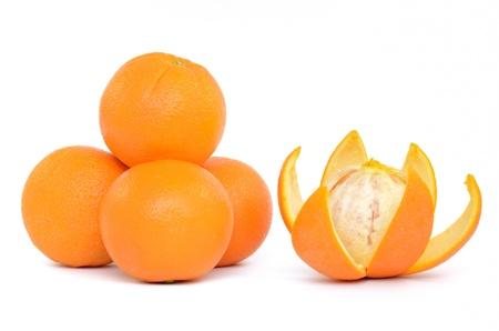 Orange isolated on white background Stock Photo - 13639927