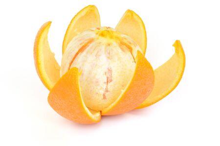 Orange isolated on white background Stock Photo - 13639899