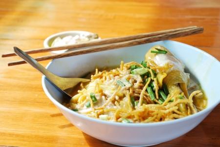soi: Khao Soi  Northern Thai Noodle Curry Soup