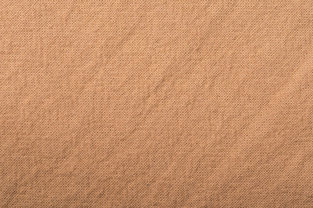 Brown cotton fabric cloth texture for background