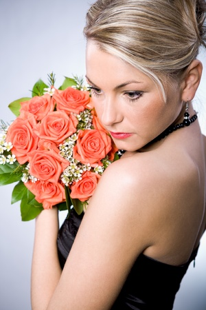 a example of bride hairstyle Stock Photo - 8723416