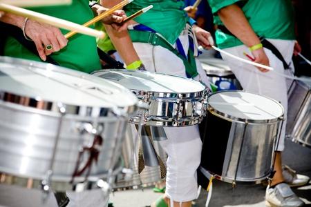 brazilian: Scenes of Samba Festival in Coburg, Germany Stock Photo