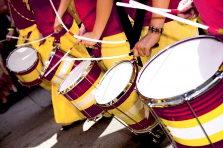 Scenes of Samba Festival in Coburg, Germany Stock Photo