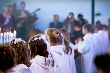 communion ceremony in the church Stock Photo - 9879167