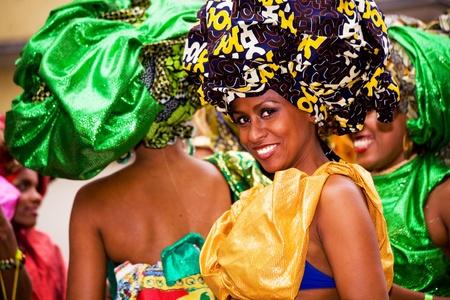 Scenes of Samba Festival - carnival in Coburg, Germany Stock Photo - 10006886