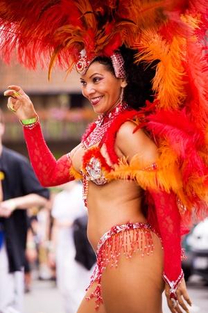 Scenes of Samba Festival - carnival in Coburg, Germany