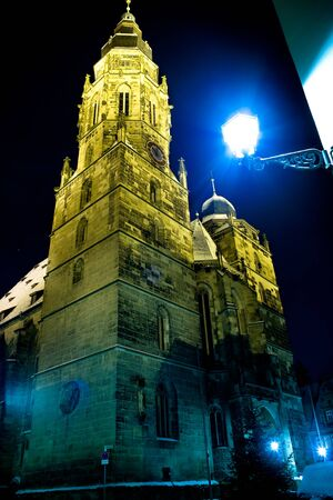Night scenes of Coburg in Germany Stock Photo - 10039774