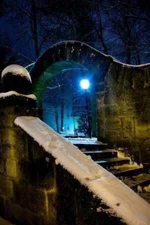 Night scenes of Coburg in Germany Stock Photo - 10039942