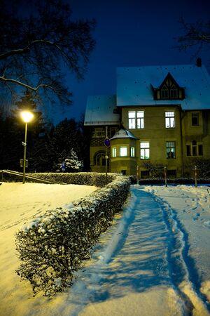 Night scenes of Coburg in Germany Stock Photo - 10038277