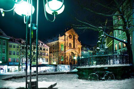 Night scenes of Bamberg in Germany Stock Photo - 10038269