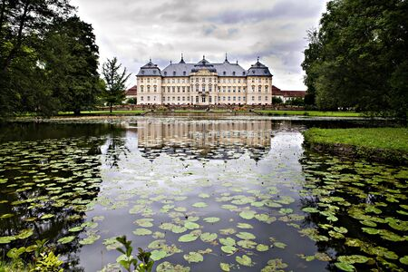 The Werneck palace in Germany, Europe. Residence and Park. Stock Photo - 12616823