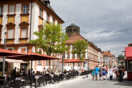 BAYREUT, GERMANY - JULY 28: City during the Richard-Wagner-Festival in Bayreut, Germany on July 28, 2012. Stock Photo - 17464685