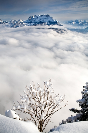 schneeberg: Pendling point on the Schneeberg mountain in Alps near Thiersee at Kufstein in Austria, Europe. Stock Photo