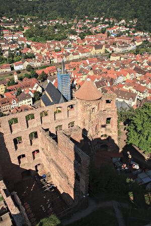 wertheim: The Wertheim town in Germany, Europe. Stock Photo