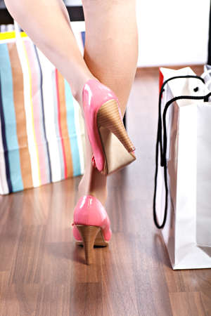 accesories: Close up shot of a pair of High Heels