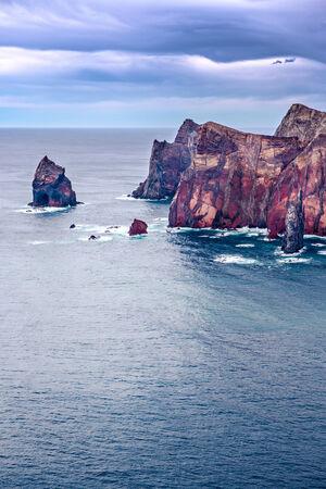 bode: Ponta do Bode. The north coast of Madeira Island, Portugal