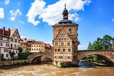 european culture: Streets of Bamberg, Bavaria, Germany