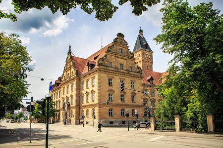 regensburg: REGENSBURG, BAVARIA, GERMANY - JULY, 2015: Streets of Regensburg Editorial