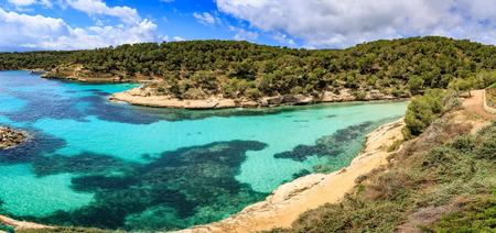 portals: The Portals Vells bay on Mallorca Island, the Balearic Islands in the Mediterranean Sea, Spain Stock Photo