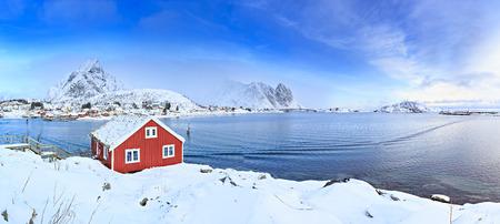 The fisherman village Reine on Lofoten Islands, Norway