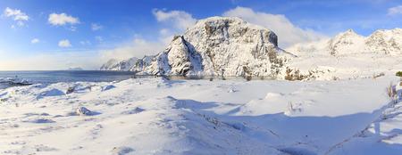 The west end of Lofoten Islands near A i Lofoten village, Norway