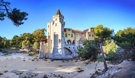 The museum Museu Condes de Castro Guimaraes in Cascais, Portugal Stock Photo