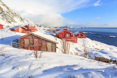 The fisherman village called A on Lofoten Islands, Norway