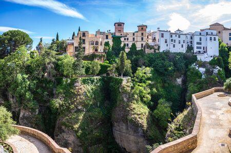 Stadtbild von Ronda in Andalusien, Spanien