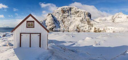 The fisherman village on Lofoten Islands, Norway