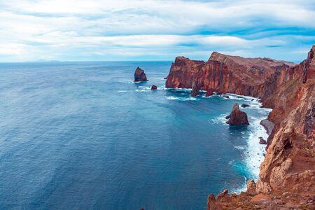 Ponta do Bode. The north coast of Madeira Island, Portugal