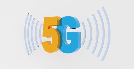 symbolic picture for 5G wireless technology for digital cellular networks