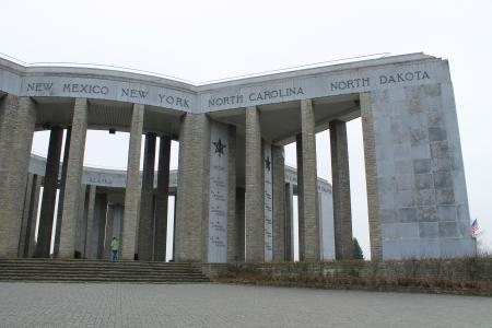 belgique: mardasson memorial