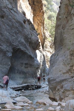 Samaria gorge, crete photo
