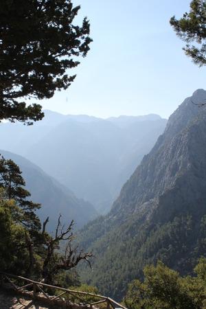 samaria: Samaria gorge, crete