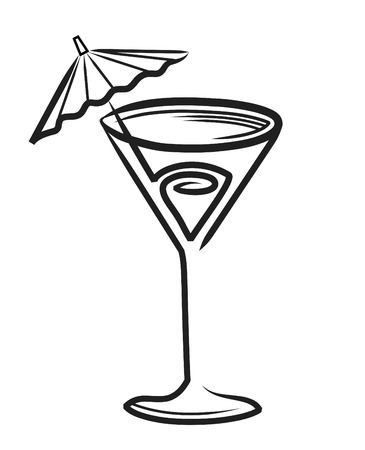 bartend: Cocktail Glass